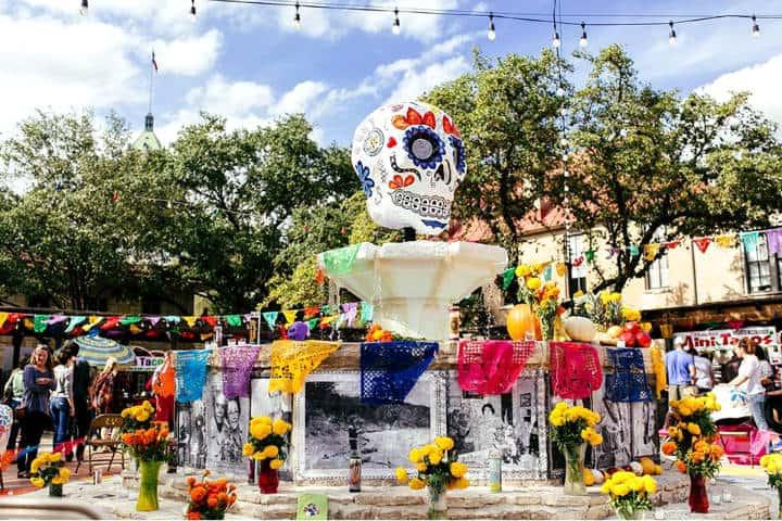 Dia de Muertos Foto Visit San Antonio 1
