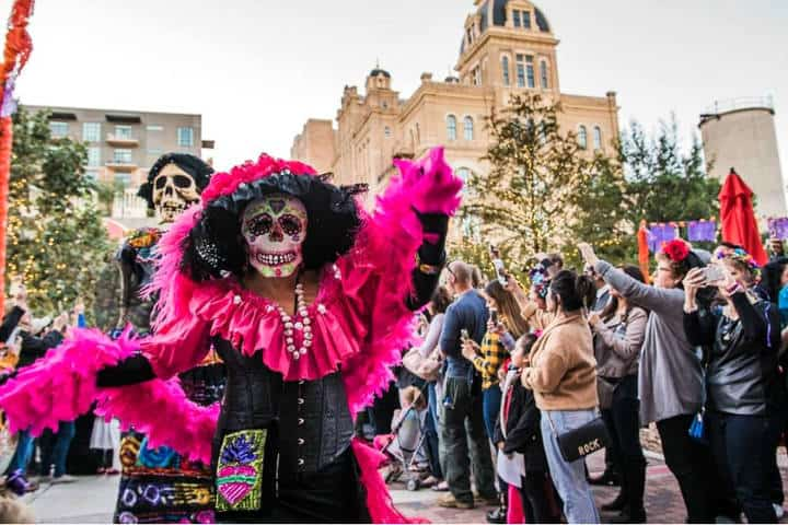 Dia de Muertos Foto Visit San Antonio 4