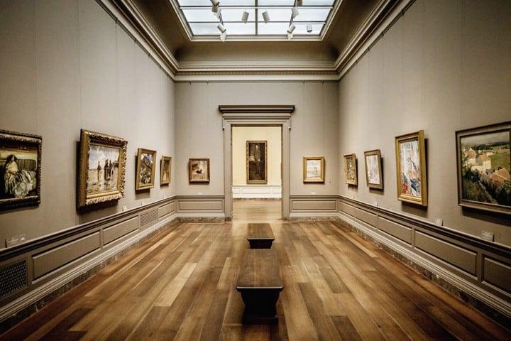 National Gallery of Retreat. Foto Wamu.