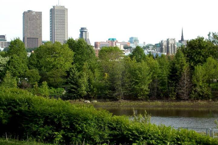 Otoño en Canadá Foto Adballahh