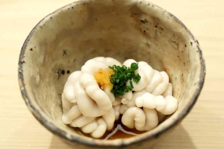 Platos exótico Shirako Foto Japannese Foodie