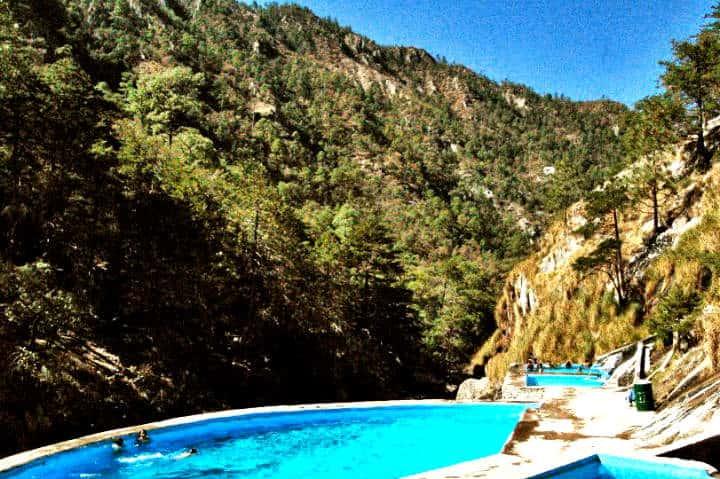 Recowata, las aguas termales Foto Hotel Divisadero