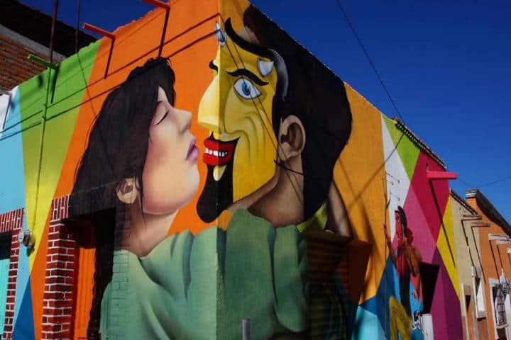 Ruta del Artista. Foto El Heraldo de Aguascalientes
