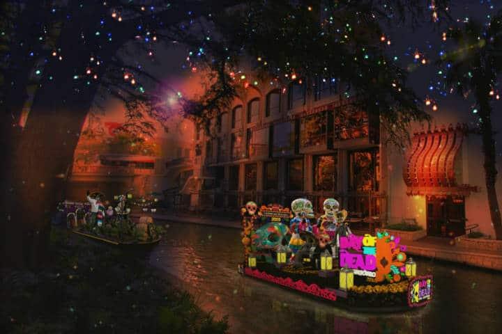 San Antonio Dia de Muertos Foto Archivo 2