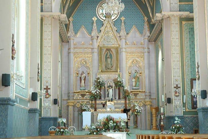 Santuario de la Virgen de Guadalupe Calvillo. Foto Julián Isida.