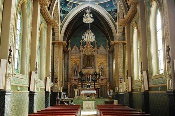 Santuario de la Virgen de Guadalupe Calvillo. Foto Paseo por México.