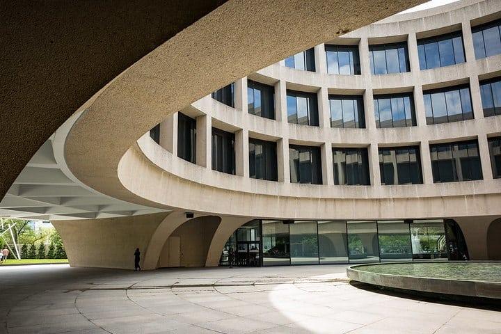 Smithsonian Museo Hirshhorn. Foto Washingtonydc.