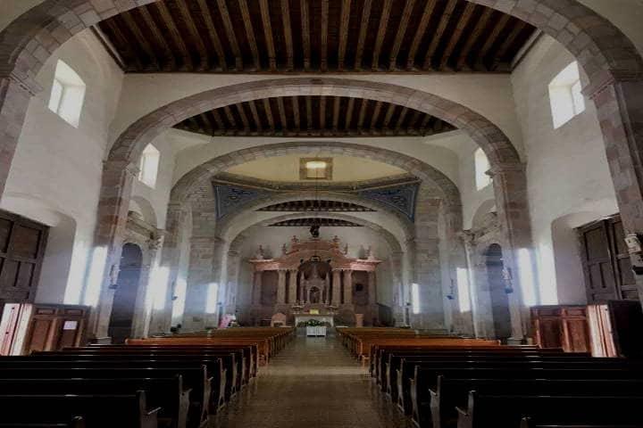 Templo de la Virgen del Rosario. Foto Leonel Valenzuela Monrreal