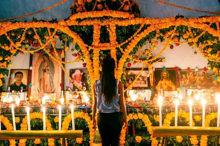 Xantolo la celebración de Día de Muertos Foto San Luis Potosì