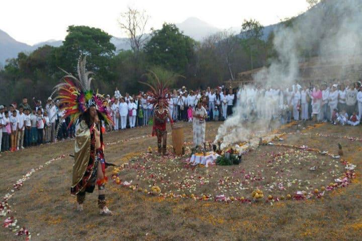 zona arqueológica de Tehuacalco Guerrero. Foto Digital Guerrero