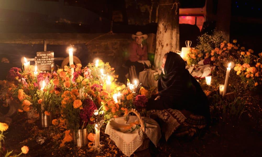 Noche de Muertos de Michoacán Foto. Cortesía