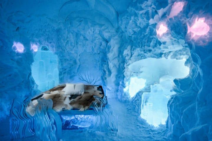 Ice Hotel: El hotel más frío del mundo. Foto Traveler