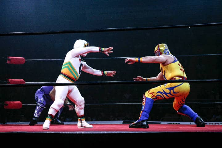 Máscaras de lucha libre Foto Clemente Mandarine