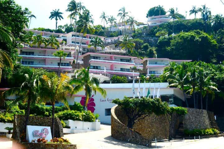 Vista al hotel