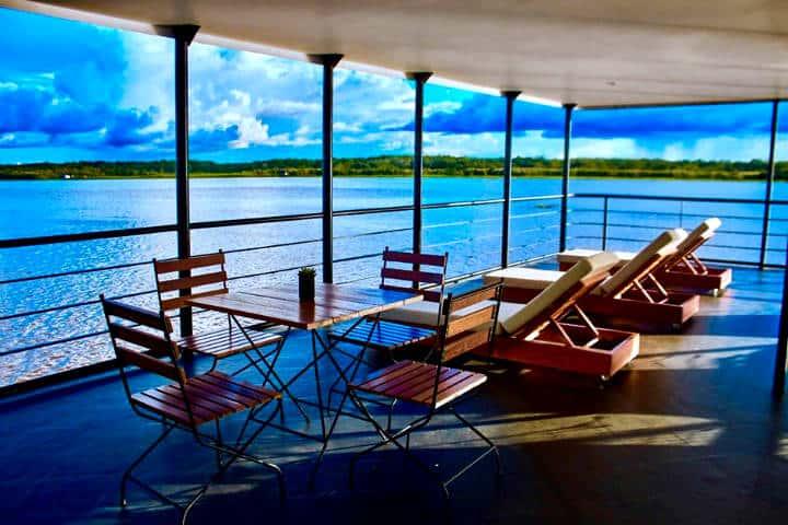 Amazon Cruise. Foto Jungle Experiences
