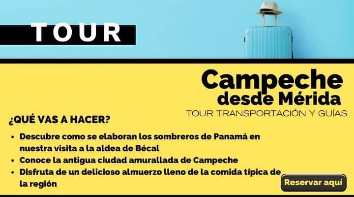 Tour Campeche Patrimonio de la Humanidad. Arte El Souvenir