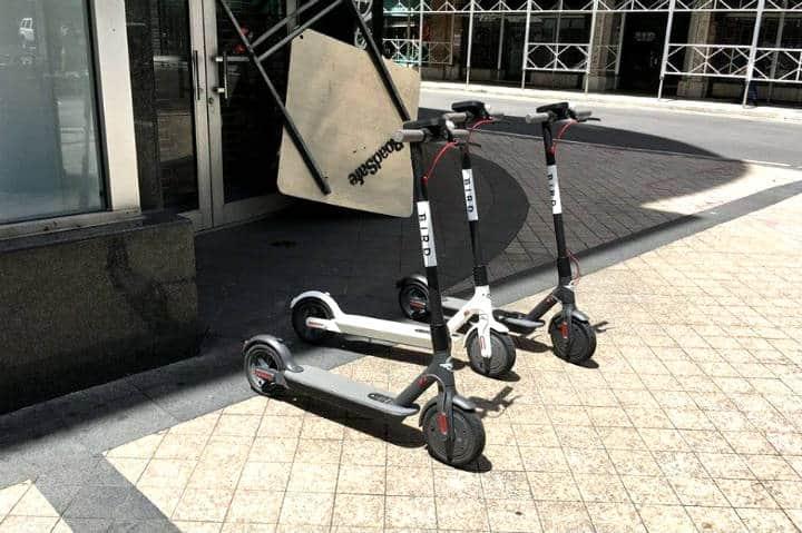 Aplicaciones de scooters en CDMX Foto Access to Mexico