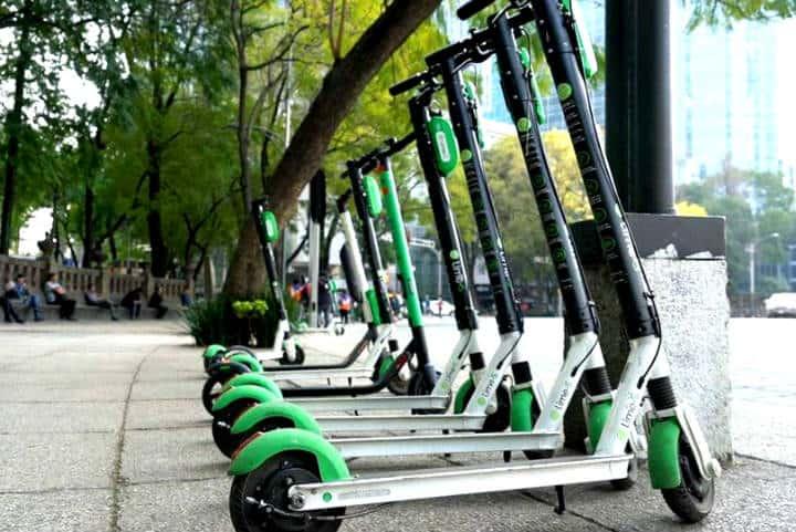 Aplicaciones de scooters en CDMX Foto Cdmx