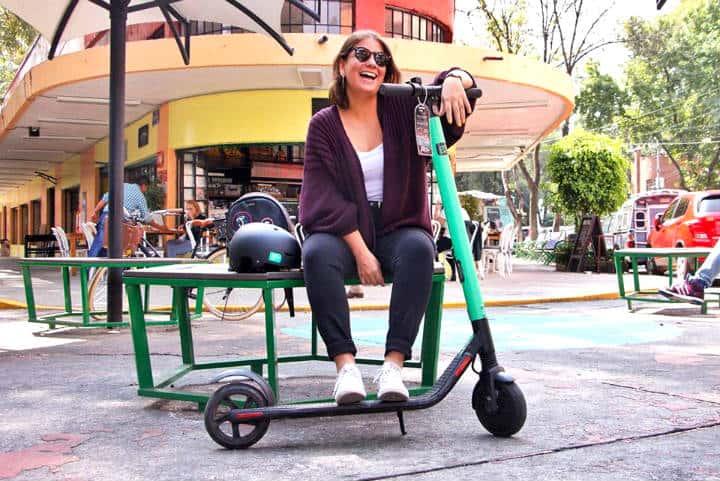 Aplicaciones de scooters en CDMX Foto Grin México