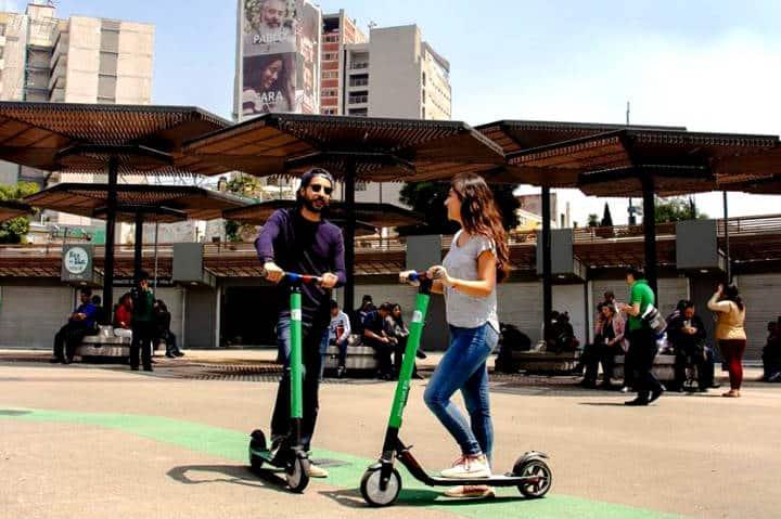 Aplicaciones de scooters en CDMX Foto Grin