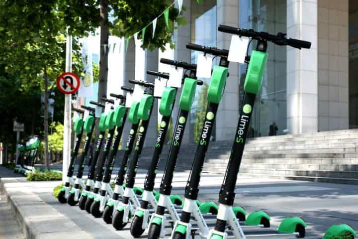 Aplicaciones de scooters en CDMX Foto Lime Scooter
