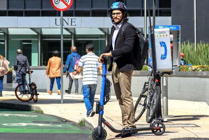 Aplicaciones de scooters en CDMX Foto Movo