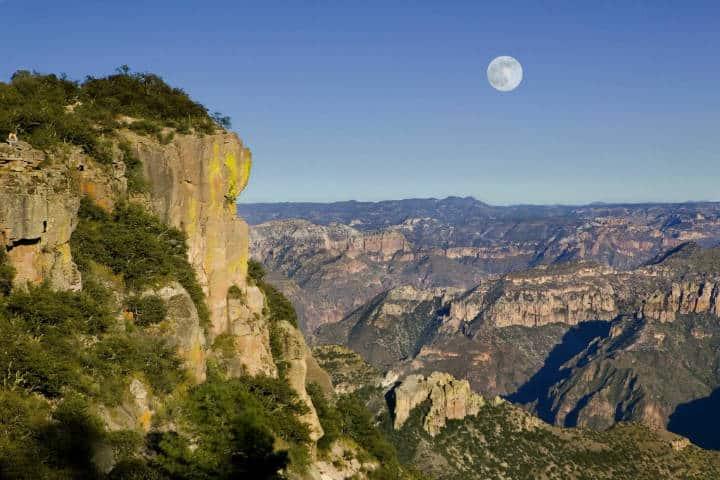 Lugares para admirar las Barrancas del Cobre. Foto: Comisión Mexicana de filamciones