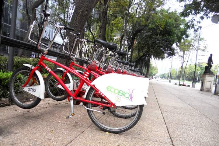 Bicis en CDMX Foto Ernesto