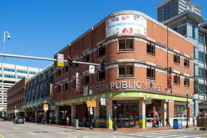 Boston Public Market. Foto Ajay Suresh
