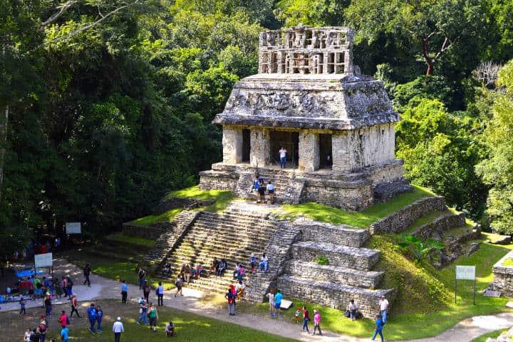 Cómo llegar a Palenque Foto Luis De Anda C.