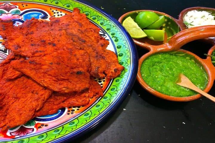 Carne Enchilada. Foto La receta de la abuelita.