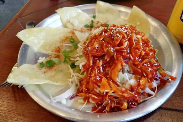 Cocinar con familia coreana Kimchi 3