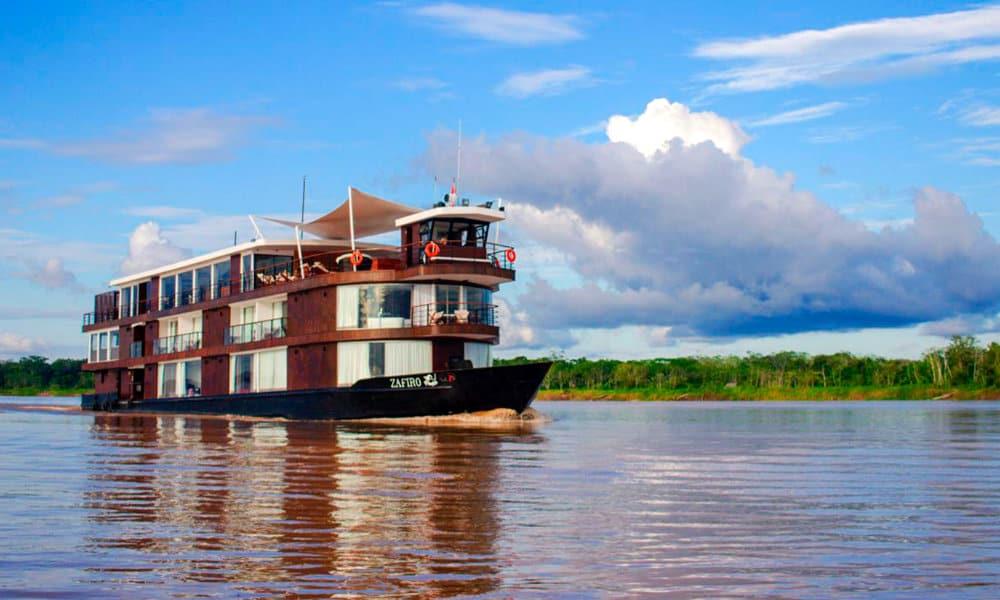 Zafiro Luxury Amazon Cruise Foto. Cortesía