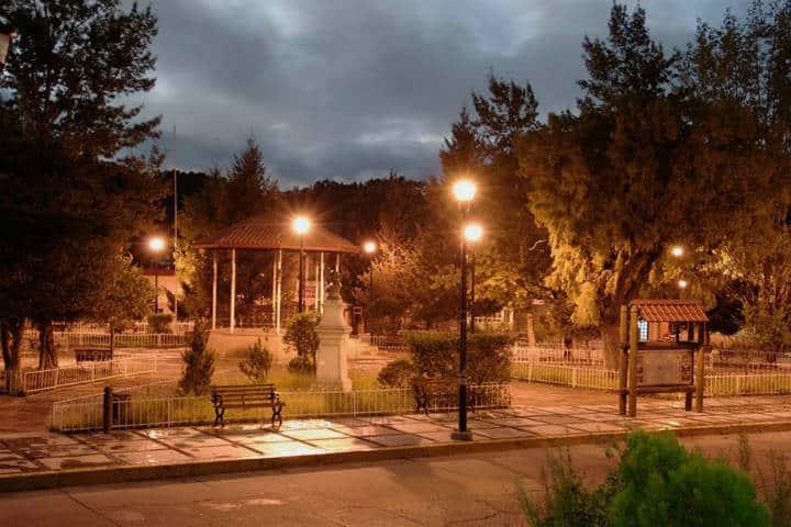 Lugares para admirar las Barrancas del Cobre. Foto: Tren barrancas del cobre.