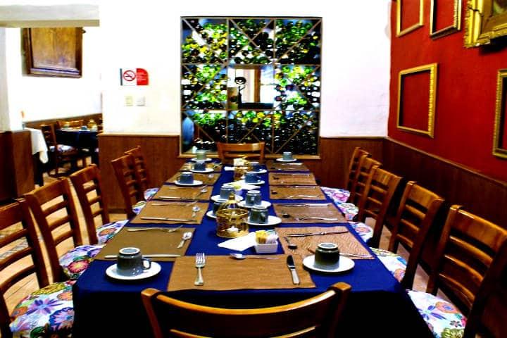 Donde comer en Zimapán Foto Open table