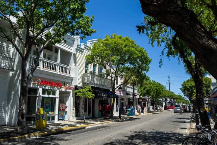 Duval Street. Foto Vincent Lammin
