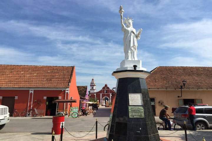 Estatua de la libertad. Alejandro Moreno Cárdenas