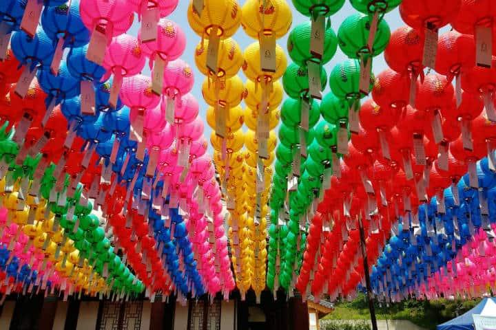 Festival de las linternas en Seúl 15
