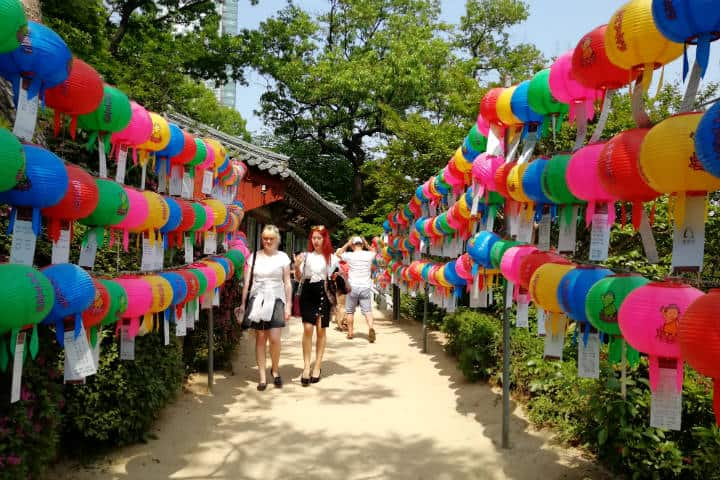 Festival de las linternas en Seúl 20