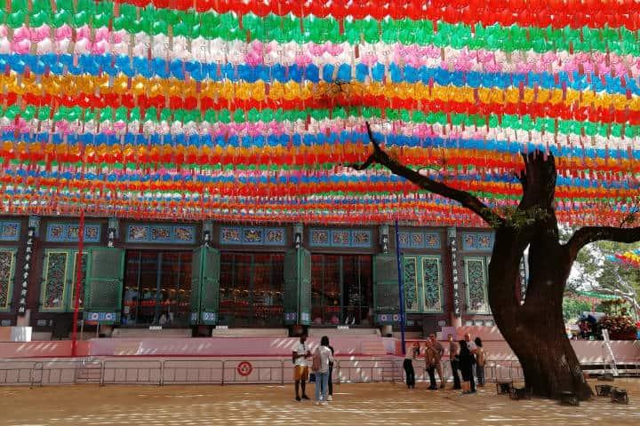 Festival de las linternas en Seúl 11