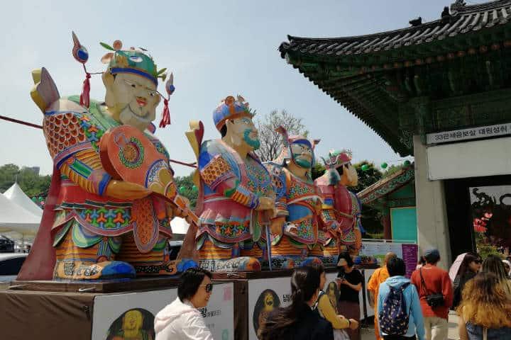 Festival de las linternas en Seúl 13