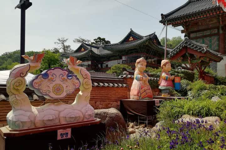 Festival de las linternas en Seúl 14