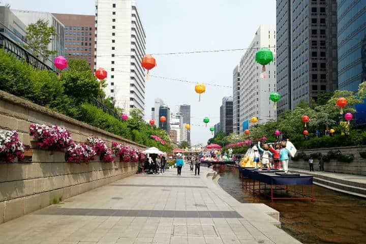 Festival de las linternas en Seúl 23
