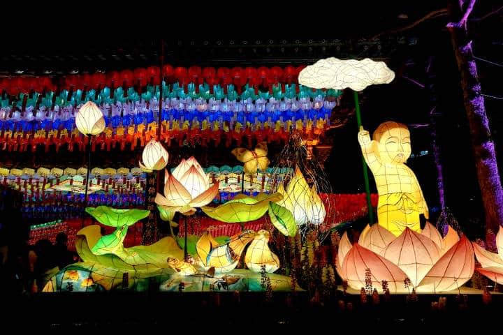 Festival de las linternas en Seúl 27