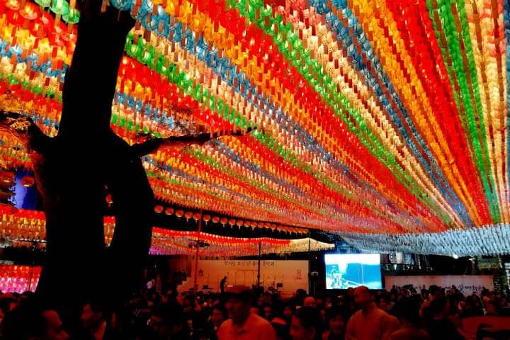 Festival de las linternas en Seúl 36