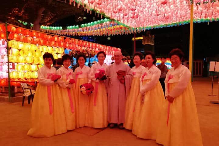Festival de las linternas en Seúl 42