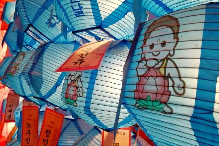 Festival de las linternas en Seúl 51