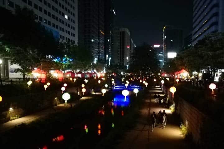 Festival de las linternas en Seúl 53