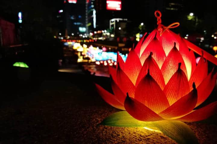 Festival de las linternas en Seúl 54