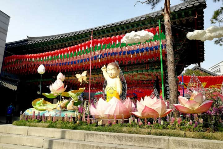 Festival de las linternas en Seúl 6